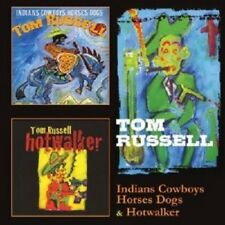 """TOM RUSSELL """"INDIANS COWBOYS HORSES DOGS/HOTWALKER"""" 2 CD NEW+"""