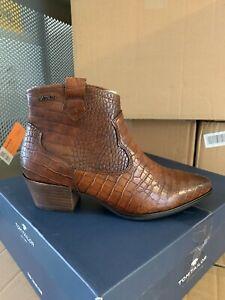 TOM TAILOR Cowboy Ankle Boots EUR 38, EUR 39, EUR 40, EUR 41, EUR 43 , mokka