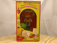 Vintage 80's  Strawberry Shortcake Doll Apple Dumplin Tea Time COMPLETE w/Box