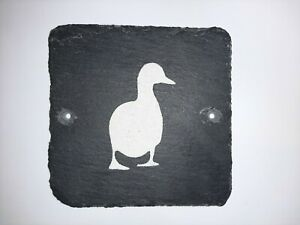 Warning Sign Duck Mind Your Head Sign Slate Plaque Funny Natural Slate Signs