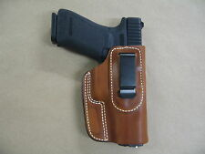 Ruger P85, P89, P95, P90 Leather In Waistband Concealed Carry Holster TAN RH