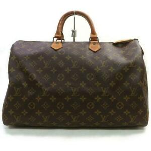 Louis Vuitton Large Monogram Speedy 40 Boston Bag 862762