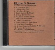 (FR489) Rhythm & Grooves, An Essential Music Selection For The Soul - 2000 DJ CD