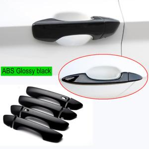 For Volkswagen  2019-20 2021 Jetta ABS Glossy black Keyless door handle cover*8