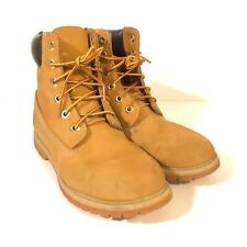 Timberland 10361 6-inch Premium Waterproof Women's Suede Boots Wheat Size 8.5 M