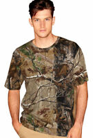 Code V Camouflage Realtree AP or APG Camo Short Sleeve T-Shirt 3980 S-2XL