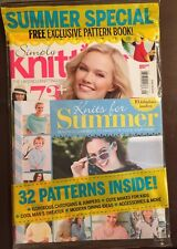 Simply Knitting Free Patterns Knits For Summer Gifts July 2015 FREE SHIPPING!