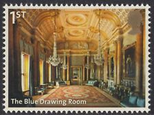 BUCKINGHAM PALACE - THE BLUE DRAWING ROOM ILLUSTRATED  ON 2014  MINT  STAMP