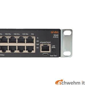 HPE Aruba 2540-24G 4SFP+ Switch (JL354A)