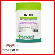 Lindens Iron 14mg 120 Tablets, Cell Formation, Tiredness, Fatigue