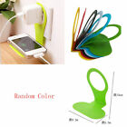 1 PC Foldable Cell Phone Charging Shelf Wall Charger NEW Hanger Charger Holder