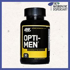 OPTIMUM NUTRITION SUPERIOR OPTI-MEN 90 Tabs. Amino, BCAA, ZMA, optimen,