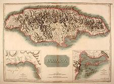 Jamaica Jamaika Caribbean Karibik Thompson Original 1817