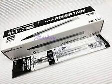 10 x Uni-Ball SNP-7 Power Tank Oil Based Ballpoint Pen Refills, BLACK