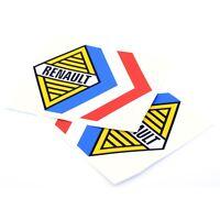 Renault Alpine Tricola Stickers Car Vinyl Decals 320mm x2 Gordini Competition