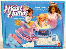 MATTEL HEART FAMILY VINTAGE ** BABIES PLAYSET ** MIB
