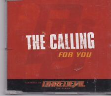 The Calling -For You promo cd single