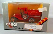 CORGI CLASSICS 1986 FORD MODEL T TANKER SAN FRANCISCO FIRE DEPT - RED - BOXED
