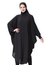 Womens Prayer Abaya Jilbab Long Dress Hijab Large Overhead Scarf Islamic Clothes