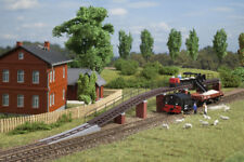 More details for auhagen kit 43704 new tt light railway loading ramp plus 15 pieces of tr