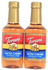 2 Torani Salted Caramel Naturally Flavor Syrup Add To Coffee Best By 2-27-20