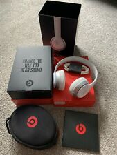 BEATS BY DR. DRE SOLO 2.0 On-Ear Adjustable Gloss White Wired Headphones