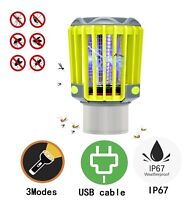 2 in 1 Rechargeable Mosquito Bug Killer Pest Repeller✔️Waterproof LED Light✔️