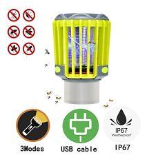 2 in 1 Rechargeable Mosquito Bug Killer Pest Repeller✔️Waterproof LED Light✔️
