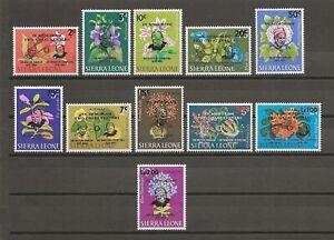 SIERRA LEONE 1965 SG 366/76 MNH Cat £30