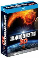 GRANDI DOCUMENTARI 3D  4 BLU-RAY 3D  COFANETTO