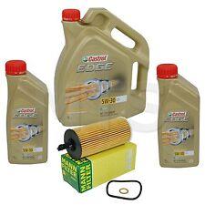 MANN Ölfilter Hu6004x Ölwechsel-Kit BMW mit 7L Castrol Edge Titanium 5W30 C3