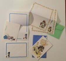 HOLLY HOBBIE Stationery letter set Vintage Israel Hebrew Palphot