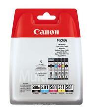 GENUINE Canon PGI-580 XL/CLI-581 Multipack PGBK/C/M/Y/BK Ink Cartridges TR8550