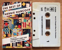 HERBIE HANCOCK - THE BEST OF (CBS 4032526) 1980s UK CASSETTE COMPILATION JAZZ