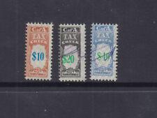 Australia 1971 $10,$20,$40 TAX INSTALMENT-Check Side-Revenue-Elsmore Cat $50 (3)