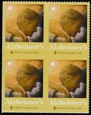 US B6 Alzheimer's First Class Semipostal block MNH 2017