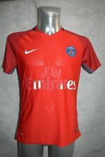 MAILLOT FOOT NIKE PSG PARIS TAILLE M JERSEY SOCCER VINTAGE THOMSON