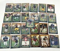 2000 Bowman Rookie Card Lot 25 Football cards