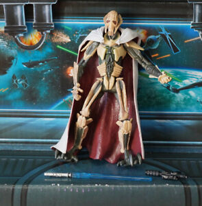 STAR WARS FIGURE 2005 ROTS COLLECTION GENERAL GRIEVOUS (SNEAK PREVIEW)