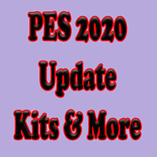 PES 2020 Kits Logos & More Update PS4 Pro Evolution Soccer USB Logos SENT TODAY