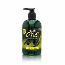 Hair One Olive Oil Cleansing Conditioner for Dry Hair with Olive Oil 12 oz.