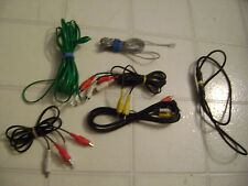 Cable assortment - RCA, phone, coax, etc.  Sold all in one lot.