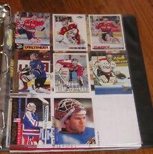 8 Jim Carey Mint Hockey Cards NHL Nice Collection