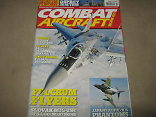 NEW! COMBAT AIRCRAFT MONTHLY March 2012 Osprey Fulcrum Flyers Japan's Phantoms