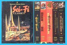 SCI-FI CLASSICS - DIAMOND AWARD SERIES- (5) VHS- SEALED