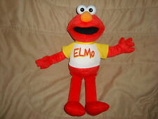 Sesame Street ELMO Plush 2005 Fisher Price 18""