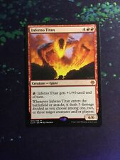Mtg, Inferno Titan. Archenemy: Nicol Bolas Mythic Rare Planeswalker NM