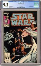 Star Wars #78 CGC 9.2 (1983) - Wedge Antilles' fight for survival on Hoth