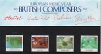 GB 1985 EUROPA - EUROPEAN MUSIC YEAR PRESENTATION PACK NO 161