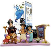 Disney Aladdin lot de 8 figurines Aladdin JAFAR Jasmine jouet